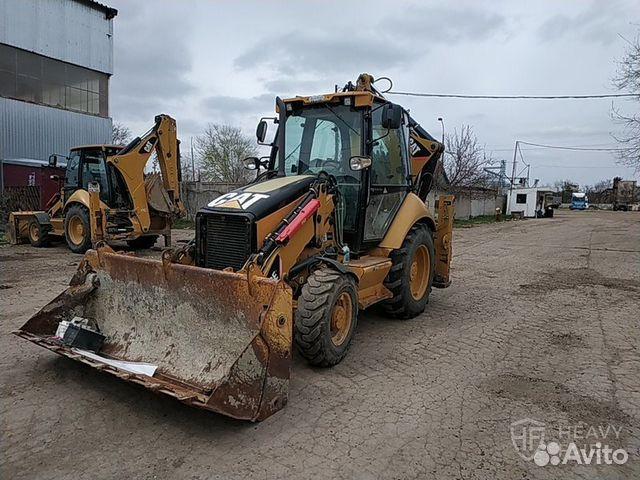 4e4e88dc3 Экскаватор-погрузчик Caterpillar 428E 2008 купить в Краснодарском ...