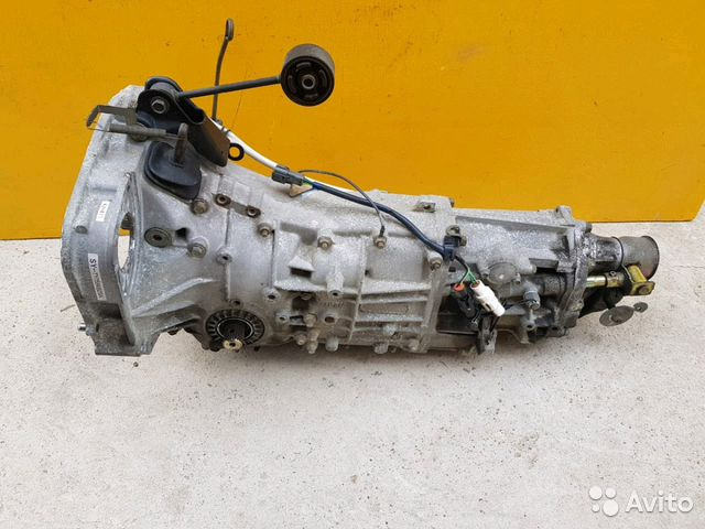 89625003353 Коробка механическая STI2M Subaru Forester, SF5, E
