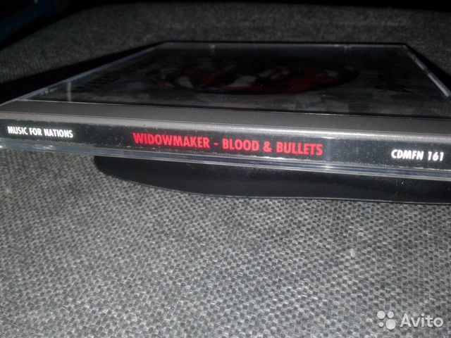 Widowmakerblood AND bullets 93г.CD  89069901803 купить 6
