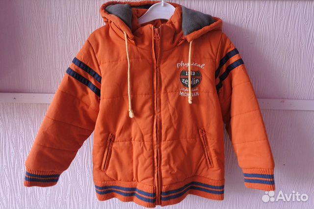 Куртка осенняя Zeplin р. 110-116 + Аксессуары  89616848492 купить 2