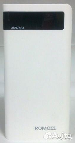 84942303606  Power Bank внешний аккумулятор Romoss 20000 mAh