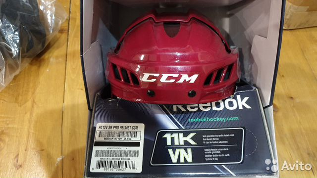 89036020550 Хоккейный шлем CCM/reebok 11K VN PRO, p. M, нов