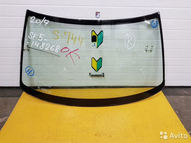 89625003353 Стекло лобовое Subaru Forester, SF5, EJ20