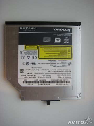 Lenovo ThinkPad DVD Burner Ultrabay Slim Drive II— фотография №1