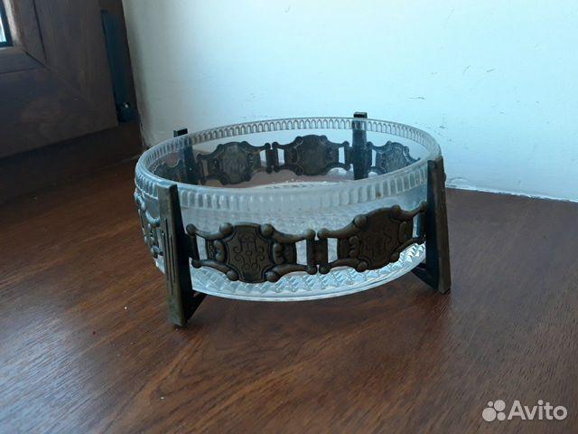 Декоративные вазы. стекло в металлическом обрамлен 89512657538 купить 2