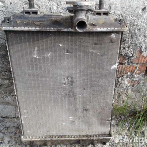 Радиатор для машины тойота passo  купить 2