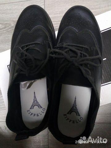 Туфли на шнурках 89788758048 купить 4