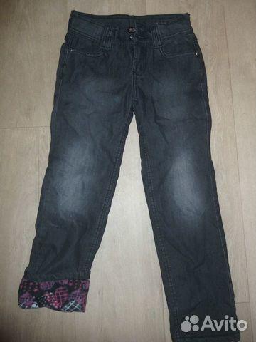 Утепленные джинсы  89246476113 купить 1
