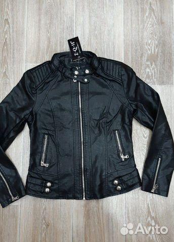Куртка кожаная новая 42-44 89176741118 купить 1
