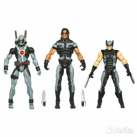 Набор фигурок Marvel Universe X-Force 3.75 (Warpat 89128847259 купить 2