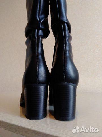 Новые сапоги, размер 39  купить 2