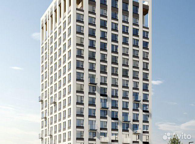 2-к квартира, 59.5 м², 3/16 эт.