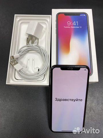 Продаю смартфон Apple iPhone X 256GB серый космос  89107873518 купить 9
