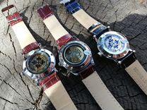 Часы-скелетоны (3 модели, механика, новые) Иркутск