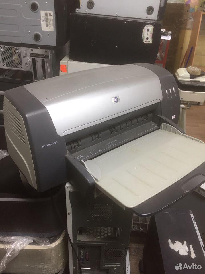 Принтер цветной струйный HP DeskJet 1280  89600998353 купить 1