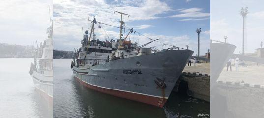 Продаётся рыбодобывающее судно, траулер, птр 50
