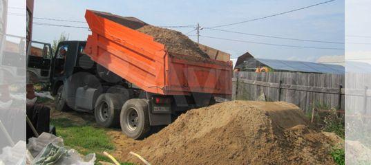 Песок,щебень,грунт,глина, опгс купить в Республике Марий Эл | Товары для дома и дачи | Авито
