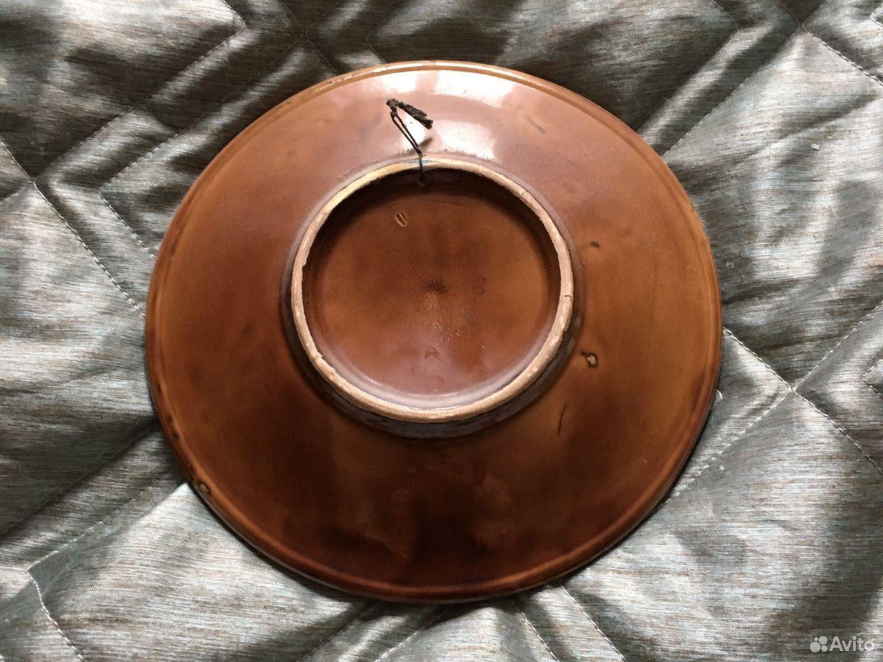 Тарелка настенная Конаково зик  89193693284 купить 2