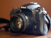 Nikon D300 с объективом 50mm