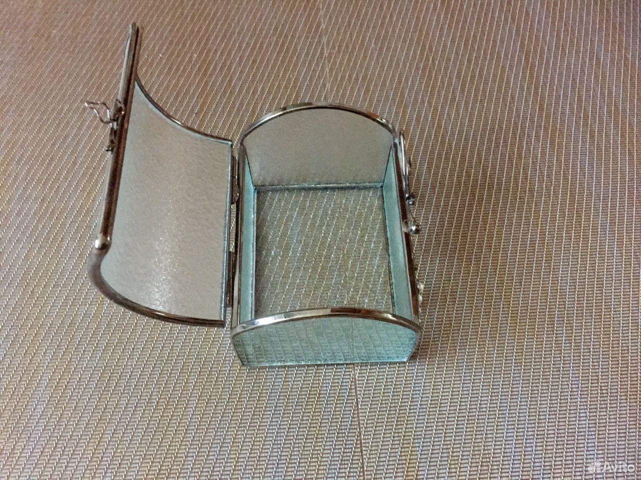 Шкатулка стекло+сталь+перламутр  89069076084 купить 7