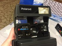 Фотоаппарат Polaroid 636 Closeup