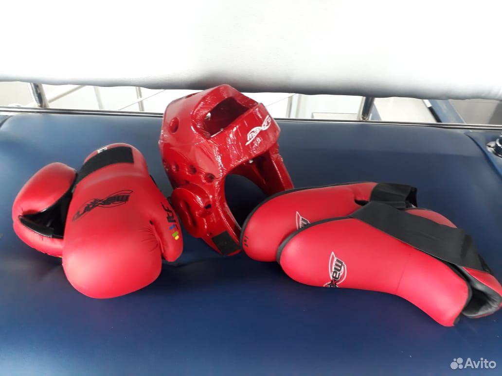 Техквандо перчатки, шлем, футы  89025622166 купить 1
