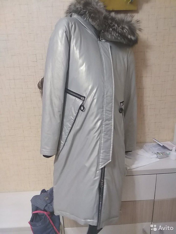 Куртка парка зимняя 44 размер  89176521707 купить 1