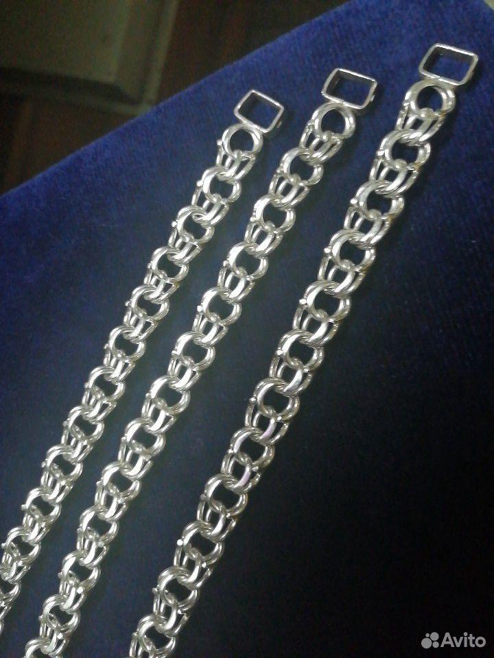 Серебряные браслеты Bismark 925 пробы. Новые от  89118641255 купить 5