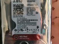 Жесткий диск 3Tb WD RED WD30efrx