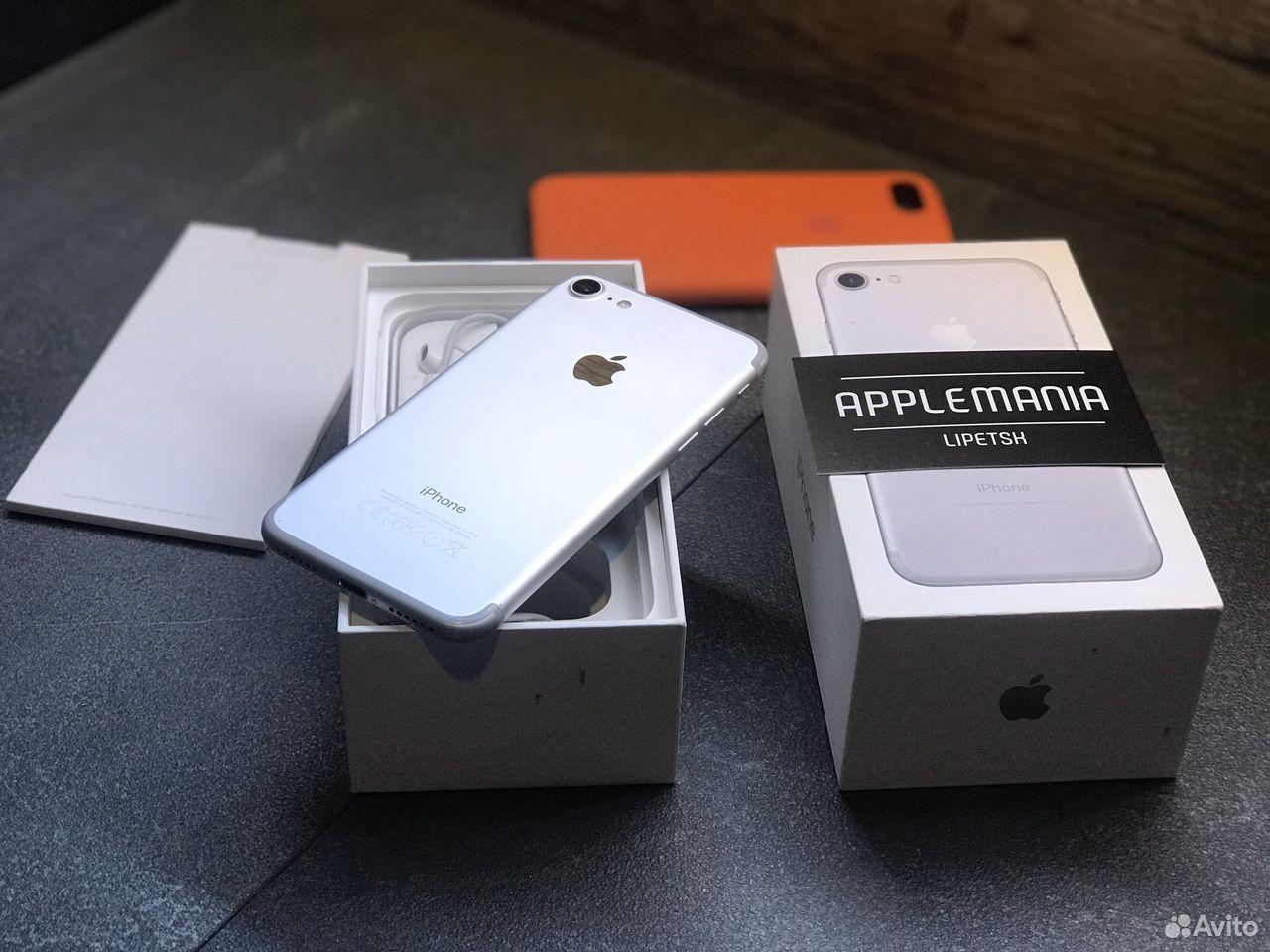 iPhone 7 32gb silver гарантия  89046868534 купить 5