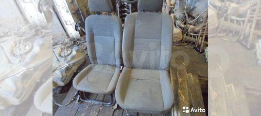 Передние сиденья Форд Торнео Коннект б/у оригинал купить в Москве   Запчасти   Авито