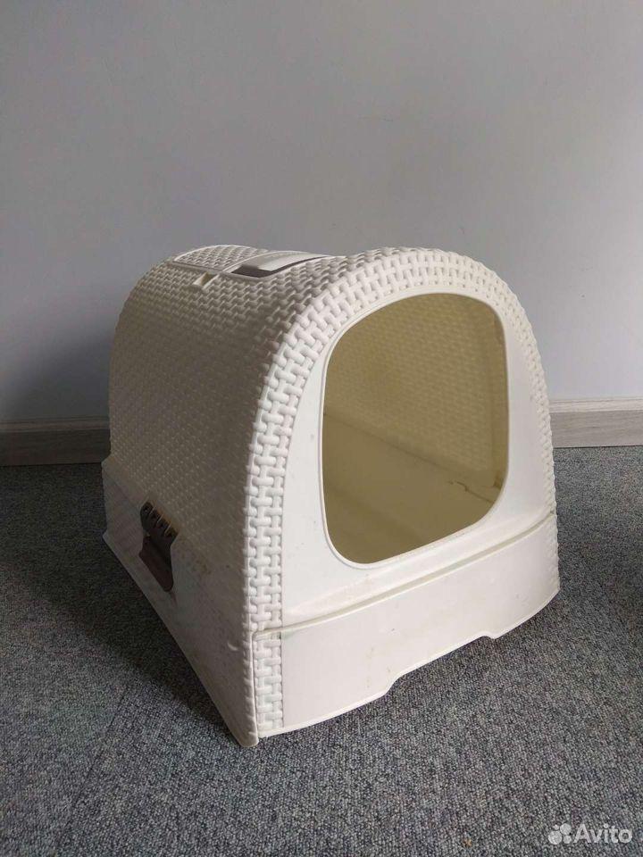 Закрытый туалет для кошек  89114656461 купить 2