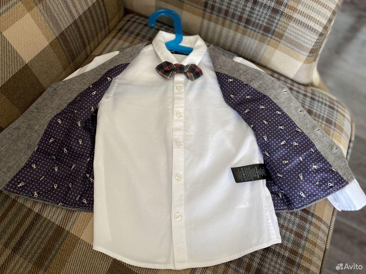 Комплект Next (рубашка, галстук- бабочка, жилет)  89788257655 купить 3