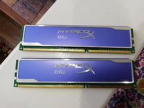 Память Kingston HyperX KHX1600C9AD3B1K2/4G 2x2Гб