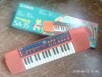 Casio SA-35(сделано в тайланде