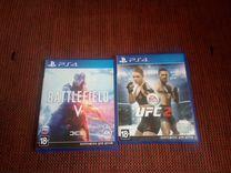 Обмен или продажа UFC2 или battlefield 5