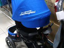 Детский велосипед трехколесный Ламборгини