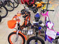 Велосипеды и электромобили для всей семьи