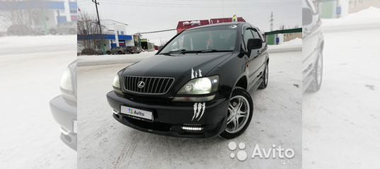 Toyota Harrier, 1998