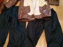 Плащ,штаны 2 шт.от дождя пакетом