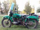 Продается мотоцикл Урал