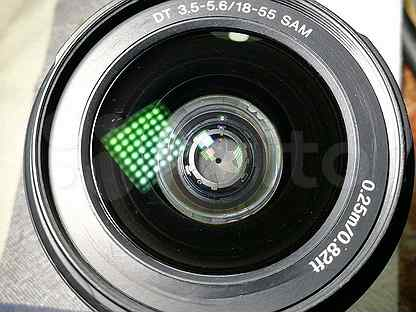 "Объектив ""Sony DT 3,5-5,6/18-55 SAM"", Sony A37"
