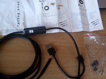 Эндоскоп 2в1 USB & microUSB 2 м