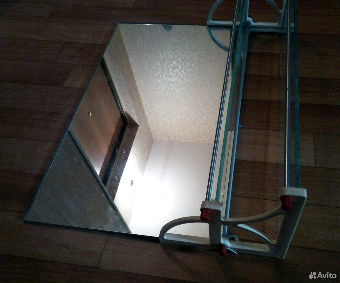 Полочка туалетная с зеркалом СССР  89332007666 купить 3