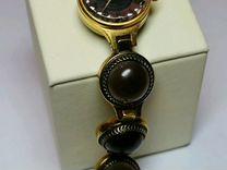 Часы из СССР чайка натуральный камень халцедон