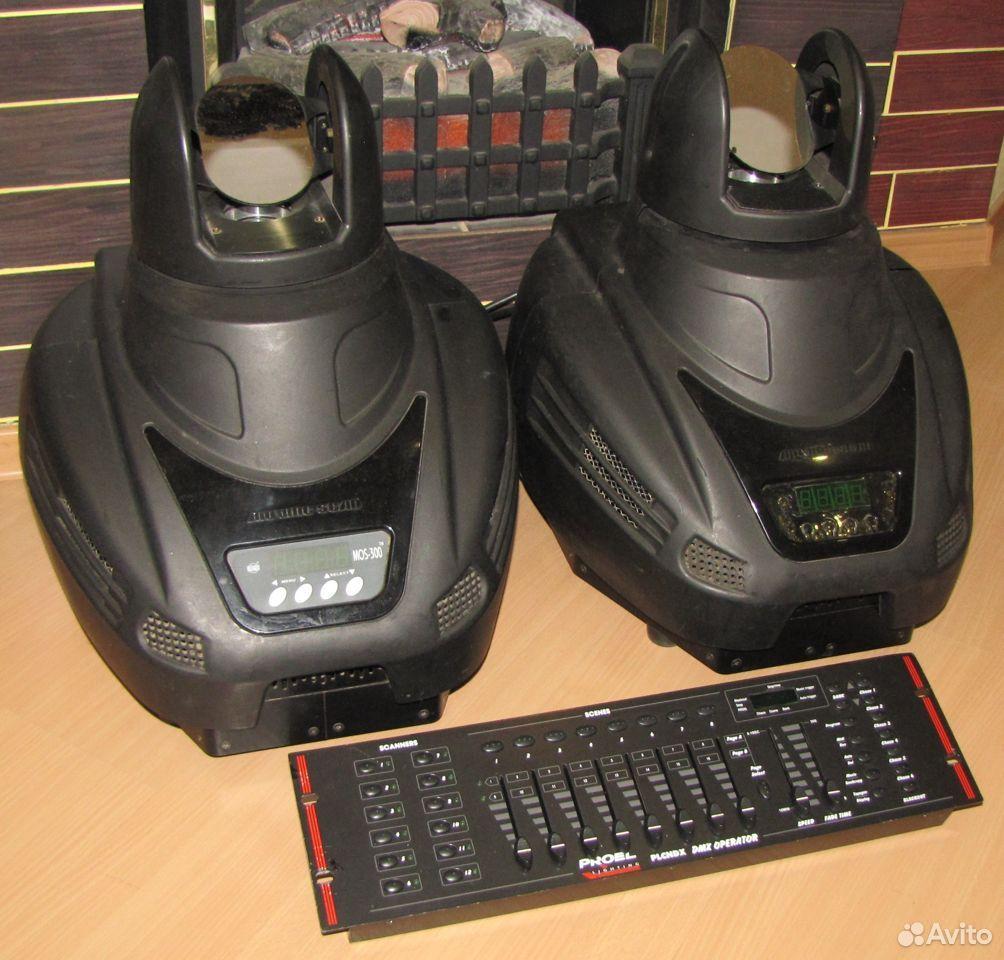 Pro светомузыка головы MOS300 2шт пульт DMX Proel  89128899109 купить 5