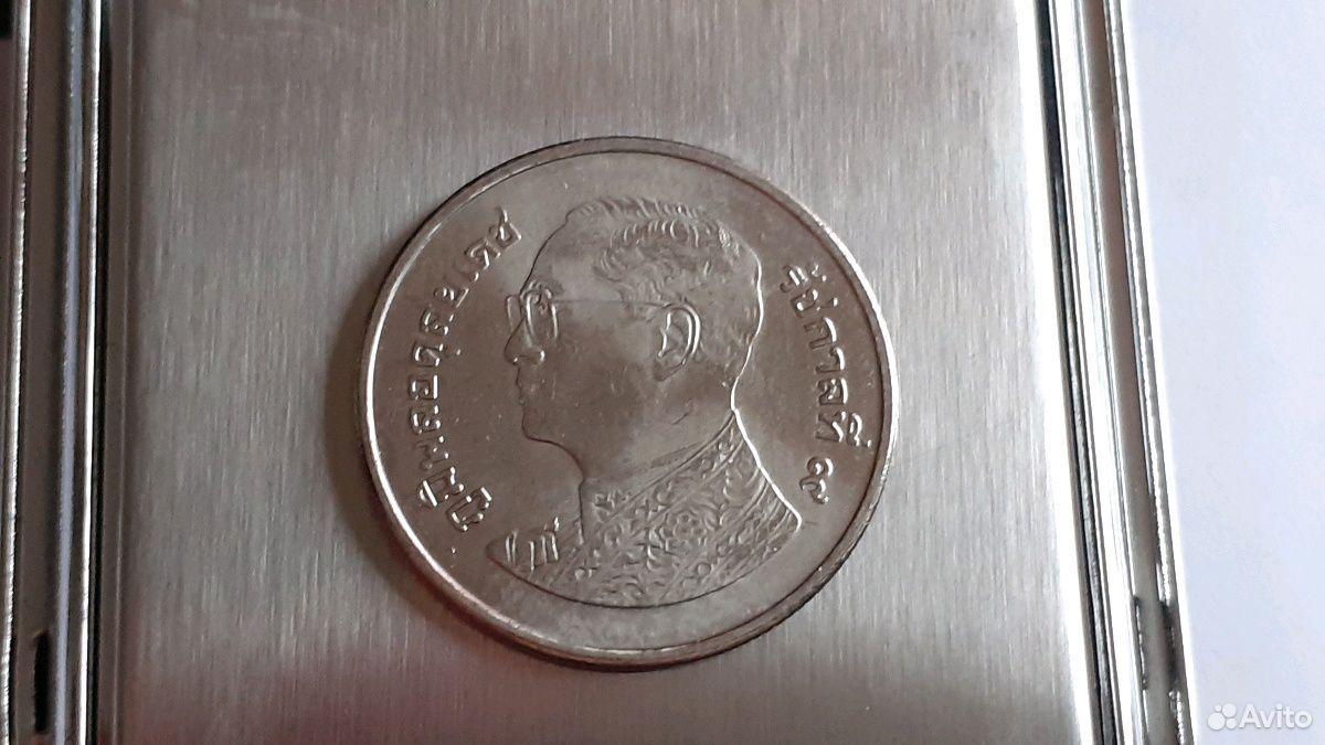 Монета один бат Тайланд (менее развернутый профиль  89630411273 купить 1
