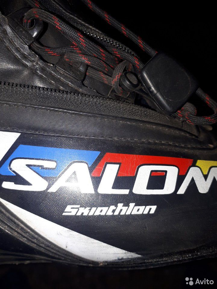 Ботинки Salomon skiatlon 44 EU, палки Madshus 155  89173235789 купить 3