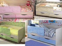 Кровать Дельфин с двумя ящиками
