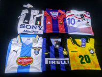 Ретро футбольная форма разных команд